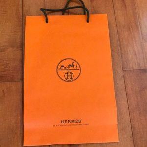 Authentic Hermes Shopping bag